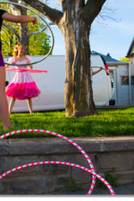 Isabella Hoops Princess Birthday parties
