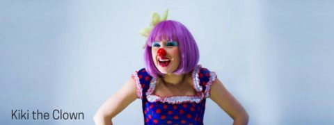 Kiki the clown, kids party