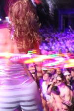 Toronto hula hoop dancer Isabella Hoops at Digital Dreams