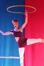 hula hooping Isabella Hoops