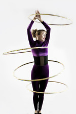 Isabella Hoops hula hoop shows