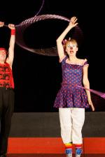 Ringmaster K and Kiki Toronto Family Circus