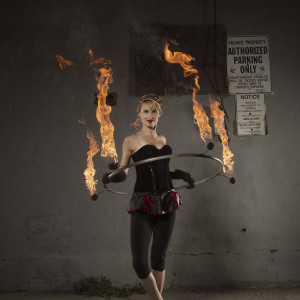 Isabella Hoops Solo Fire shows
