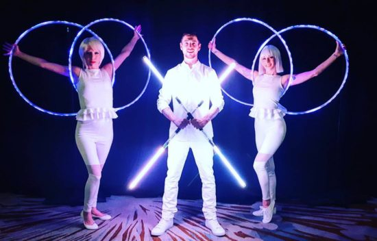 Unique LED troupe